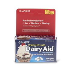 MEDOTCS0120C2 - MedlineOTC Dairy Digestive Aid Caps, 60 per Bottle (Compare to Lactaid)