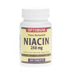 MEDOTCS0766C2 - MedlineGeneric OTC Niacin Tr, Tabs, 250 Mg, 100 Bt (Niacin Tablets)