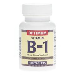MEDOTCS0810C2 - MedlineGeneric OTC Vitamin B-1, 100 Mg Tablets, 100 Bt