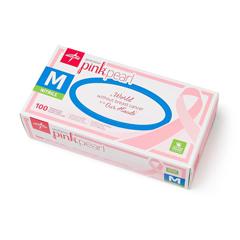 MEDPINK5085 - MedlineGeneration Pink Pearl Nitrile Exam Gloves