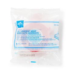 MEDPRM088001CP - Medline - Nonsterile Cohesive Bandage, Assorted Colors, 1 x 5 yd. (2.5 cm x 4.6 m), 30 EA/CS