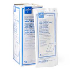 MEDPRM21454 - MedlineCaring Sterile Abdominal Pads