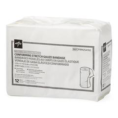 MEDPRM254192 - Medline - Nonsterile Conforming Gauze Bandage, 2 x 4.1 yd., 96 EA/CS