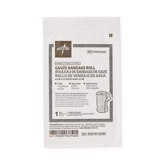 MEDPRM25865 - MedlineCaring Sterile Cotton Gauze Bandage Rolls
