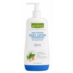 MEDREMB1218 - Medline - Remedy Derm Hand and Body Lotion, 12 EA/CS