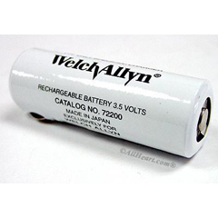 MEDW-A72200 - Welch-Allyn - Battery, Nicad, Recharge, Red, 3.5V