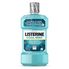 MEDW-L42720 - Johnson & Johnson - Mouthwash, Listerine, Antiseptic, Cool Mint, 8-Oz