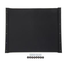 MEDWCA806926K4 - Medline - 22 Black Nylon Seat Upholstery for MDS80657 Wheelchairs