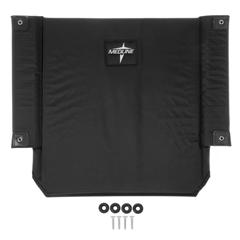 MEDWCA806928K4 - Medline - Upholstery, Back, Excel K4 Wheelchair, Black Nylon, 22