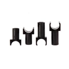 MEDWCA806980 - MedlineSeat Guides, Black Plastic, Permanent