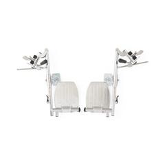 MEDWCA806985HEMI - Medline - Extra Wide Wheelchair Parts, 1/PR