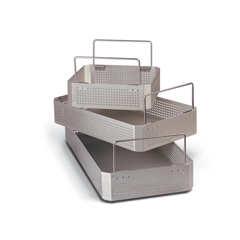 MEDWGN63P100A - Medline - Basket, Full Size, Aluminum, Perf, 4