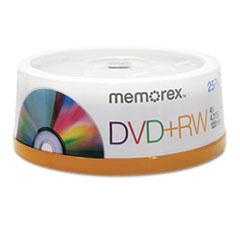 MEM05541 - Memorex® DVD+RW Rewritable Disc