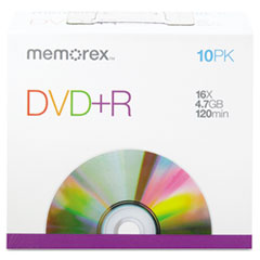 MEM05656 - Memorex® DVD+R Recordable Disc