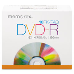 MEM05669 - Memorex® DVD-R Recordable Disc