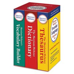 MER3328 - Everyday Language Reference Set, Dictionary, Thesaurus, Vocabulary Builder
