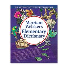 MER6763 - Merriam Webster Elementary Dictionary