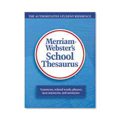MER78 - Merriam Webster School Thesaurus