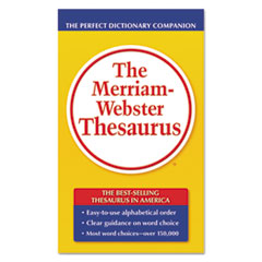 MER850 - Merriam Webster Paperback Thesaurus