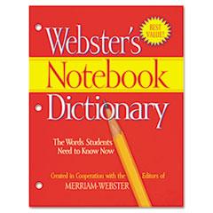 MERFSP0566 - Merriam Webster Notebook Dictionary