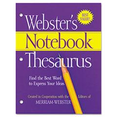 MERFSP0573 - Merriam Webster Notebook Thesaurus