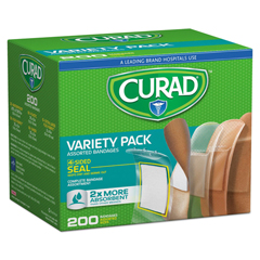 MIICUR0800RB - Curad® Variety Pack Assorted Bandages