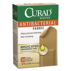 MIICUR47255 - Curad® Flex Fabric Antibacterial Bandages