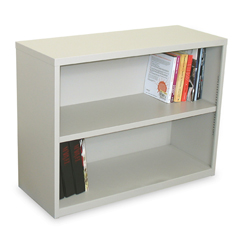 MLGMSBC236_FT - Marvel GroupEnsemble 2-Shelf Bookcase, Featherstone Finish