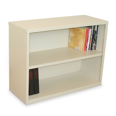 MLGMSBC236_UT - Marvel GroupEnsemble 2-Shelf Bookcase, Putty Finish