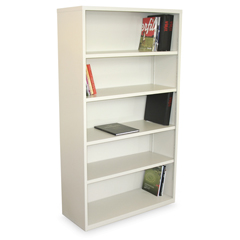 MLGMSBC536_UT - Marvel GroupEnsemble 5-Shelf Bookcase, Putty Finish