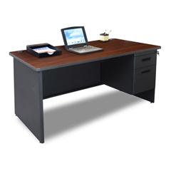 MLGPDR6030SPDTMA - Marvel GroupPronto® Single Pedestal Desk