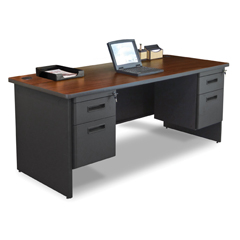 MLGPDR7236DPDTMA - Marvel GroupPronto® Double Pedestal Desk