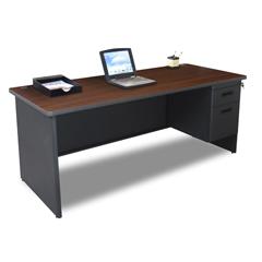 MLGPDR7236SPDTMA - Marvel GroupPronto® Single Pedestal Desk