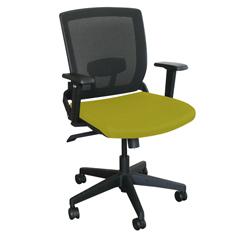 MLGWMCOPFB-F6561 - Marvel GroupOperational Mesh Chair, Lime Fabric/Black Base
