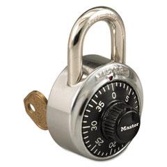 MLK1525 - Master Lock® Combination Padlock with Key Cylinder