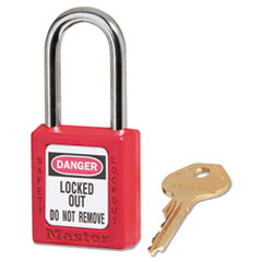 MLK410RED - Master Lock® Safety Lockout Padlock