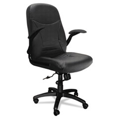 MLN6446AGBLT - Mayline® Big & Tall Series Executive Swivel/Tilt Chair with Upholstered Arms