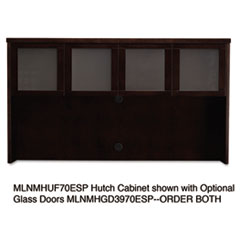 MLNMHUF70ESP - Mayline® Mira Series Hutch