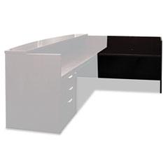 MLNMRRT2448ESP - Mayline® Mira Series Reception Desk Shell Return