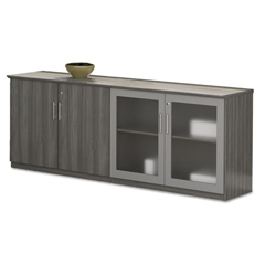 MLNMVLCCLGS - Mayline® Medina™ Series Low Wall Cabinet with Doors