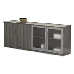MLNMVLCDLGS - Mayline® Medina™ Series Low Wall Cabinet with Doors
