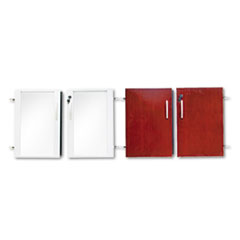 MLNVLCDCRY - Mayline® Low Wall Cabinet Door Set