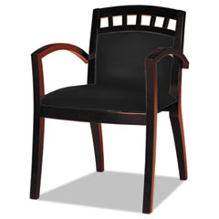 MLNVSC5ABMAH - Mayline® Mercado Series Leather Seating Arch-Back Guest Chair