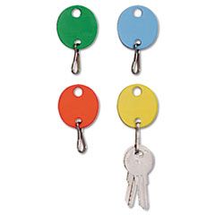 MMF2018009W47 - MMF Industries™ Oval Snap-Hook Key Tags