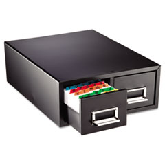 MMF263F3516DBLA - STEELMASTER® by MMF Industries™ Drawer Card Cabinet