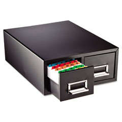 MMF263F5816DBLA - STEELMASTER® by MMF Industries™ Drawer Card Cabinet