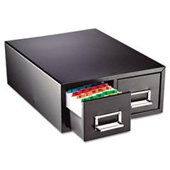 MMF263F6916DBLA - STEELMASTER® by MMF Industries™ Drawer Card Cabinet