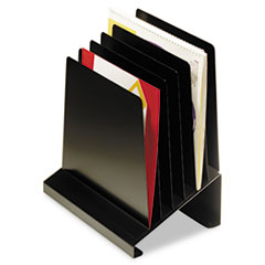 MMF264R806BK - STEELMASTER® by MMF Industries™ Slanted Vertical Organizer
