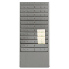 MMF27012JTRGY - SteelMaster® Time Card Rack