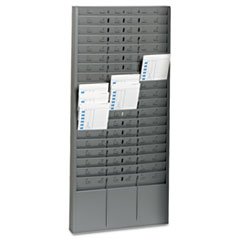 MMF27018JTRGY - STEELMASTER® by MMF Industries™ Time Card Rack